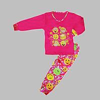 Пижама для девочки Smile(малиновый цвет)