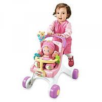 Fisher Price Ходунки коляска для кукол