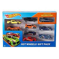 Hot Wheels Подарочные наборы автомобилей по 9шт в асортименте(машинки могут отличатся)