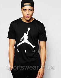 """Мужская  черная  Футболка  Аир джордан  AIR Jordan """""""" В стиле Jordan """""""""""