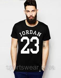"""Футболка  черная  мужская  Джордан  JORDAN 23 """""""" В стиле Jordan """""""""""