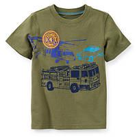 Футболка Carters Пожарная машина, Размер 24м, Размер 24м