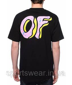 """Мужская Футболка черная Odd Future OF Donut """""""" В стиле Odd Future """""""""""