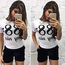 """Бархатные женские мини-шорты """"Kent"""" с карманами и меховыми помпонами (4 цвета), фото 3"""
