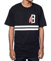 Футболка мужская стильная Black Scale Classic B Feather Logo
