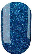 Гель-лак № 118(синий с мелкими бирюзовыми блестками) 8 мл Oxxi