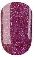 Гель-лак № 090(темный розовый с очень мелкими блестками) 8 мл Oxxi*