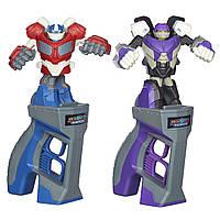 Трансформеры Hasbro Оптимус Прайм Мегатрон Бой трансформеров Transformers Battle Masters Figh