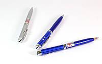 Ручка с лазером и фонариком PEN+LASER ZK 21L (только упаковкой 24 штук), лазерная указка Laser Pen