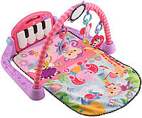 Fisher-Price развивающий коврик Kick and Play Piano Gym, Pink