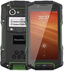 Смартфон Huadoo HG04 black-green IP68  2/16 Gb, MSM8926, 3G, 4G