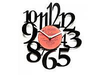 """Виниловые часы """"Безумные часы"""", фото 1"""