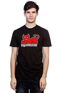 """Футболка черная TOY MACHINE DEVIL CAT """""""" В стиле Toy Machine """""""""""