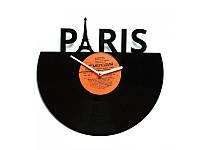 """Виниловые часы """"Париж"""", фото 1"""