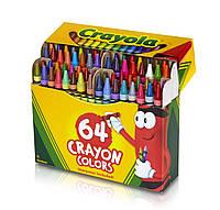 Crayola большой набор восковых карандашей 64шт Crayons