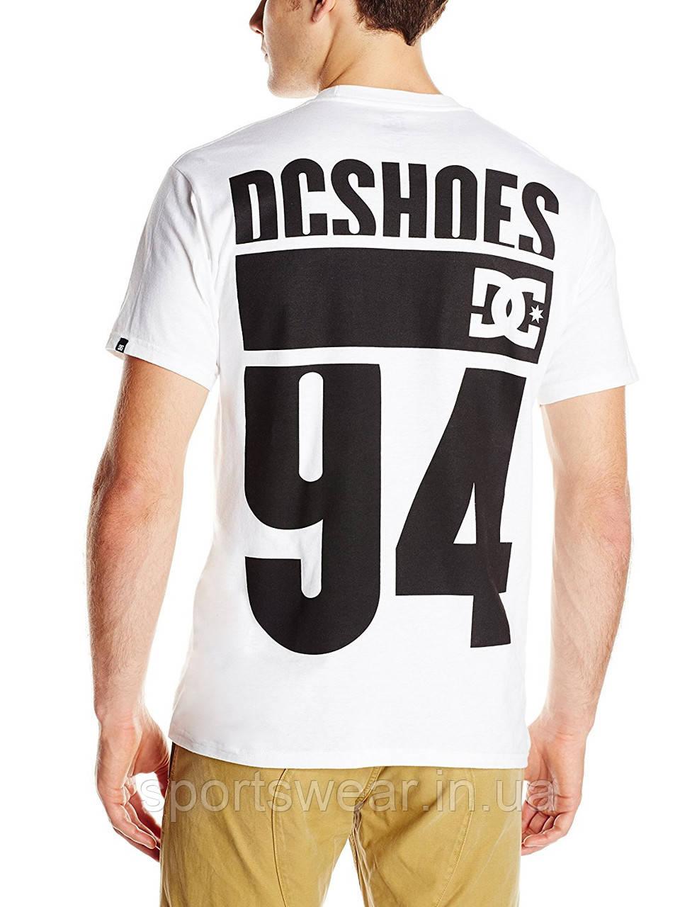 """Футболка    белая    DC Shoes 94 мужская """""""" В стиле DC """""""""""