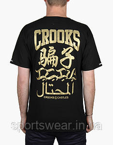 Мужская Футболка Crooks & Castles Linguistics