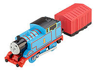 Fisher-Price Thomas The Train Говорящий моторизированный паровозик Томас TrackMaster Talking Thomas