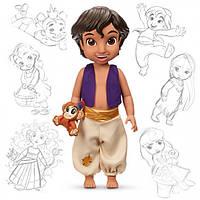 Disney дисней аниматорс Animators' Collection Алладин Aladdin 43см