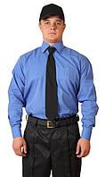 Рубашка голубая  классическая, арт.16010