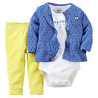 Комплект с штанишками Carters Счастливая, Размер 9м, Размер 9м