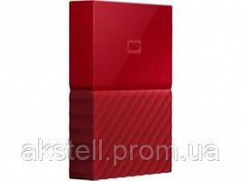 USB 1.0TB WD My Passport Red (WDBYNN0010BRD-WESN)