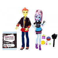 Monster High набор кукл Эбби Боминейбл и Хит Бёрнс Классная комната Abbey Bominable and Heath Burns Class Room