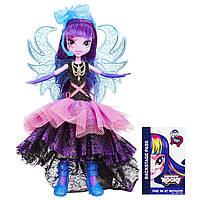 My Little Pony Девочки Эквестерии Супермодница Твайлайт Спаркл Equestria Girls Rainbow Rocks Deluxe Dress Twilight Sparkle