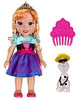 Disney Холодное сердце принцесса Анна с Олафом  Princess Frozen  Anna Doll with Olaf