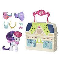 My Little Pony Игровой набор Магазин одежды Рарити Friendship is Magic Rarity Dress Shop Playset