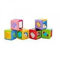 Fisher-Price Сенсорные кубики Сафари Silly Safari Stackin' Sensory Blocks