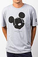 "Футболка  серая  Neff Mickey Mouse мужская """" В стиле Neff """""
