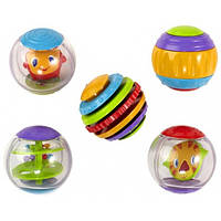 Bright Starts Сенсорные шарики Roll Shake and Spin Activity Balls