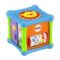 Fisher-Price Кубик Веселые животные Animal Activity Cube