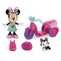 Fisher-Price Игровой набор Минни-Маус на модной прогулке Disney Minne Mouse Bowtique Minnie's Bike Ride