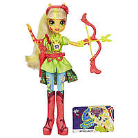 My Little Pony Девушки Эквестрии Эппл Джек Игры дружбы Equestria Girls Archery Applejack