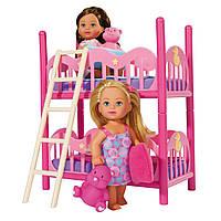 Simba Игровой набор Ева и 2-х ярусная кровать Evi Love Doll & 2 Floor bed Pley set