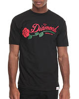 Футболка мужская с принтом Diamond supply co la rosa