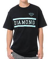 Футболка мужская стильная Diamond Supply Collegiate