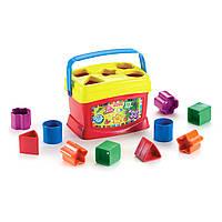 Fisher-Price Сортер ведерко Brilliant Basics Baby's First Blocks
