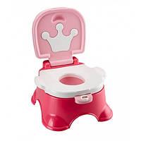 Fisher Price Горшок музыкальный Принцесса 3 в 1 Розовый Pink Princess Stepstool Potty