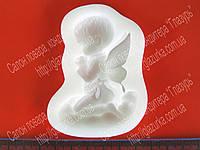 Силиконовый молд  для мастики Ребенок ангел