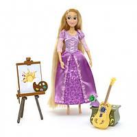 Disney's Поющая Рапунцел с аксессуарами Rapunzel painting and singing doll