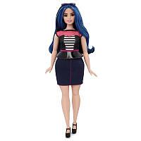 Кукла Барби модница пышная милые полосы Barbie Fashionistas Doll 27 Sweetheart Stripes - Curvy