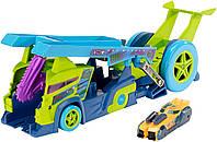 Hot Wheels Грузовик-пускатель серии Молниеносные половинки Split Speeders X-Blade Rig Vehicle DHY26