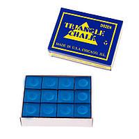 Мел Triangle (1уп=12шт) синий,