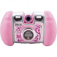 VTech Детский фотоаппарат с поворачивающейся камерой розовый Kidizoom Spin & Smile Camera Pink