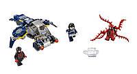 LEGO Super Heroes Супер Герои Нападение Карнажа Carnage's Shield Sky Attack 76036