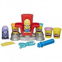 Play-Doh Миньены в парихмахерской Featuring Despicable Me Minions Disguise Lab
