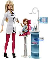 Barbie Игровой набор Барби стамотолог Careers Dentist Playset DHB64